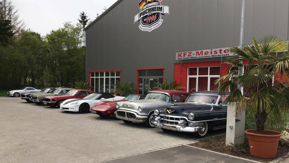 Aussenansicht Kfz-Meisterbetrieb RS Automobile Puchheim
